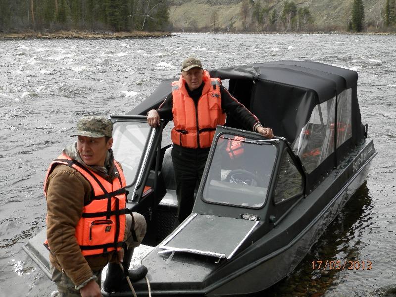 купить лодку в туве